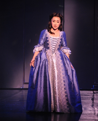 "Opera San Jose guest artist Hae Ji Chang as ""Pamina"" in ""The Magic Flute"" playing April 18 through May 3 at the California Theatre, San Jose.  Photo: Pat Kirk"