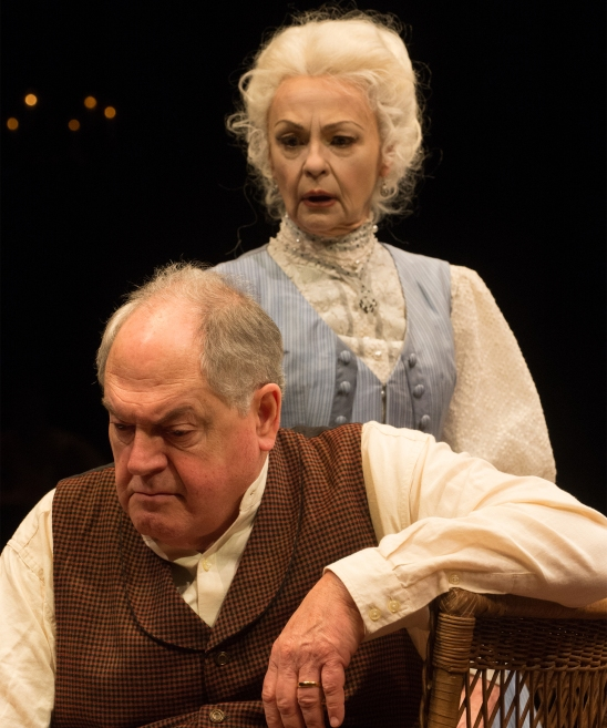 James Tyrone (Michael Winters) and his wife, Mary (Judith-Marie Bergan), are once again at an impasse. Photo: Jenny Graham.