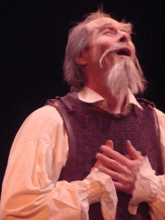 Paul Myrvold as Don Quixote in Man of La Mancha at Pacific Repertory Company, 2009.