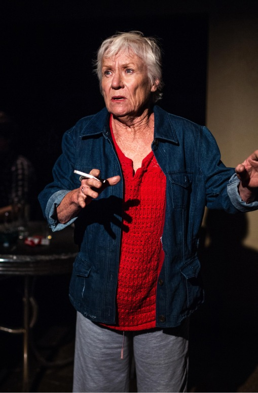 "Barbara Tarbuck in the Echo Theatre Company production of Miki Johnson's ""American Falls"" running through October 18 at Atwater Village Theatre. Photo: Darrett Sanders"