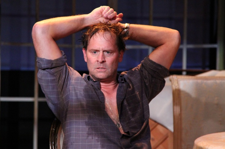 """Jeffrey Nordling as Astrov in """"Uncle Vanya"""" at Antaeus Theatre Company through December 6. Photo: Karianne Flaathen"""