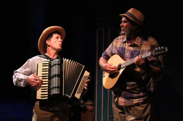 "John Allee and Morlan Higgins as Yefim and Telegin in ""Uncle Vanya"" at Antaeus Theatre Company through December 6. Photo: Karianne Flaathen"