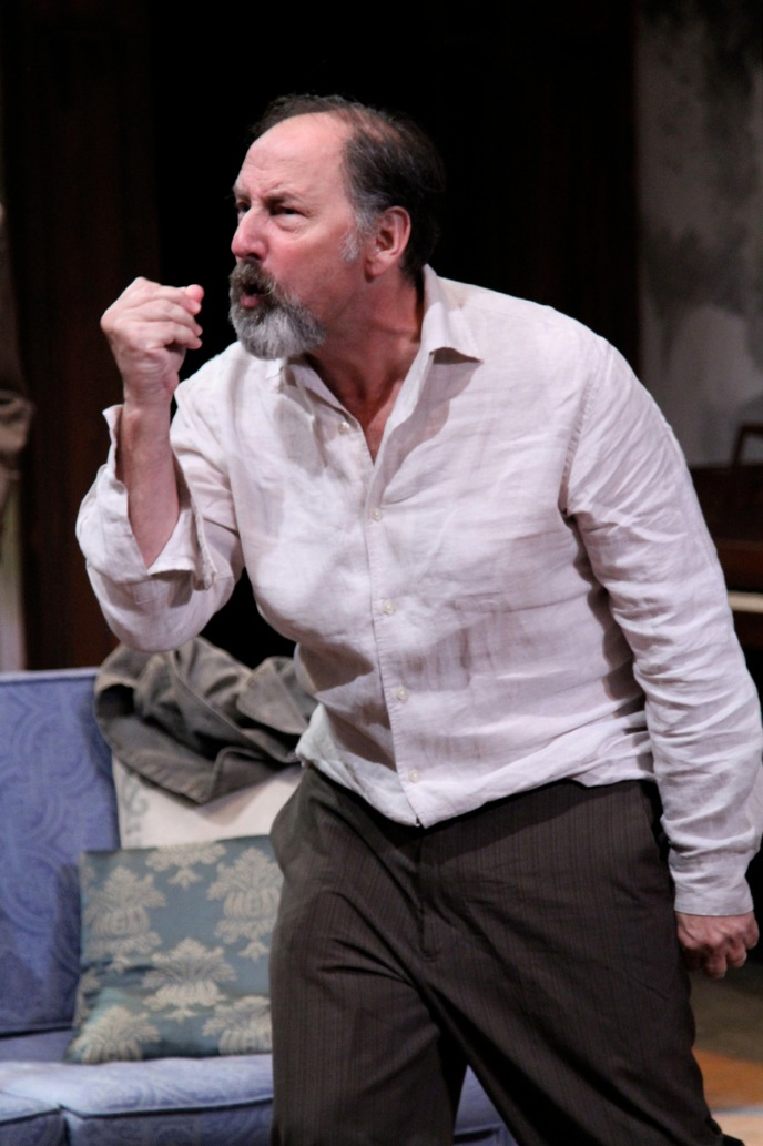 "Arye Gross in ""Uncle Vanya"" at Antaeus Theatre Company through December 6. Photo: Karianne Flaathen"