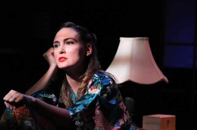 "Rebecca Mozo in ""Uncle Vanya"" at Antaeus Theatre Company through December 6. Photo: Karianne Flaathen"