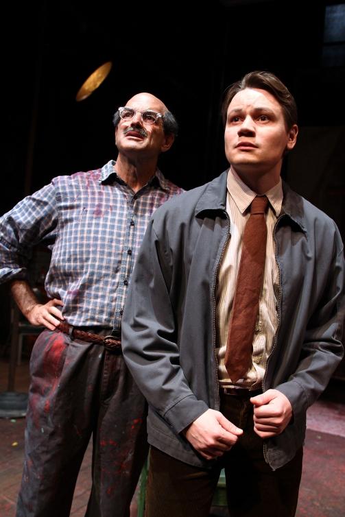 Mark Harelik and Paul David Story in South Coast Repertory's 201