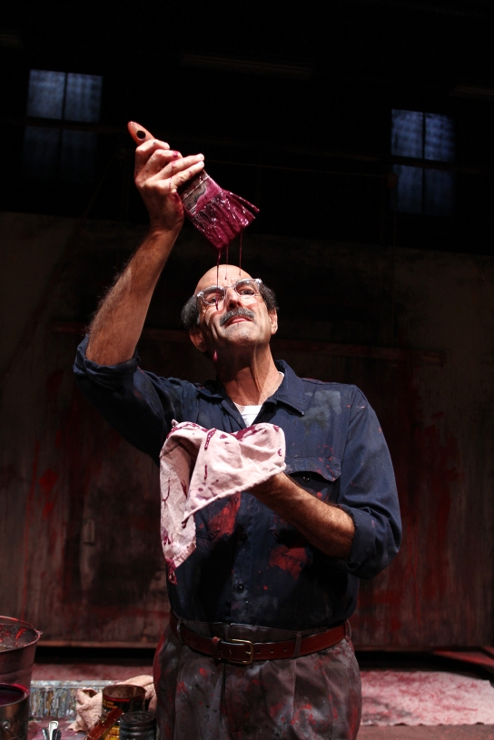 Mark Harelik in South Coast Repertory's 2016 production of RED b