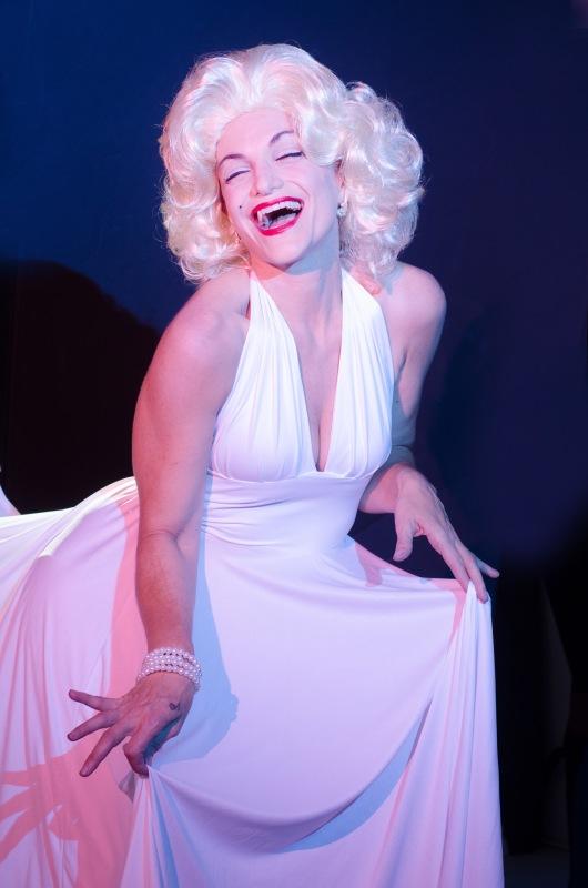 Rita as Marilyn