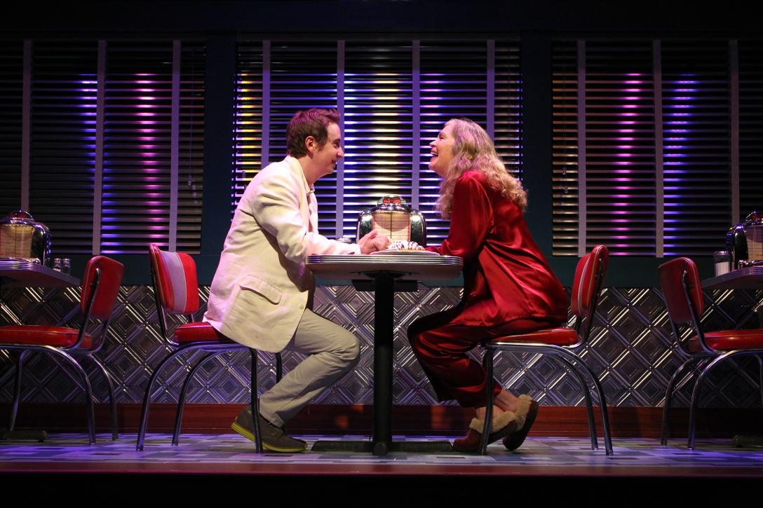Linda Gehringer and Stephen Ellis in South Coast Repertory's 201