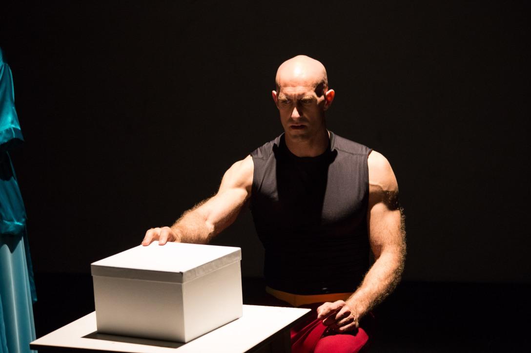 SuperHero, Jonees Welsh with Box