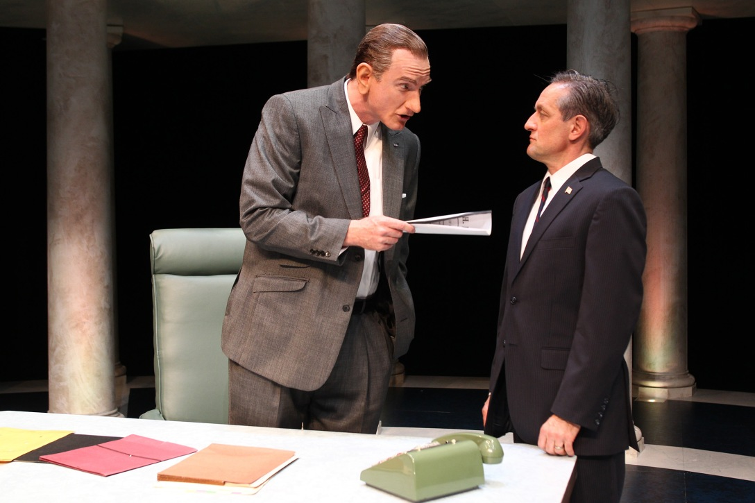 Hugo Armstrong and JD Cullum in SCR's 2016 production of ALL THE