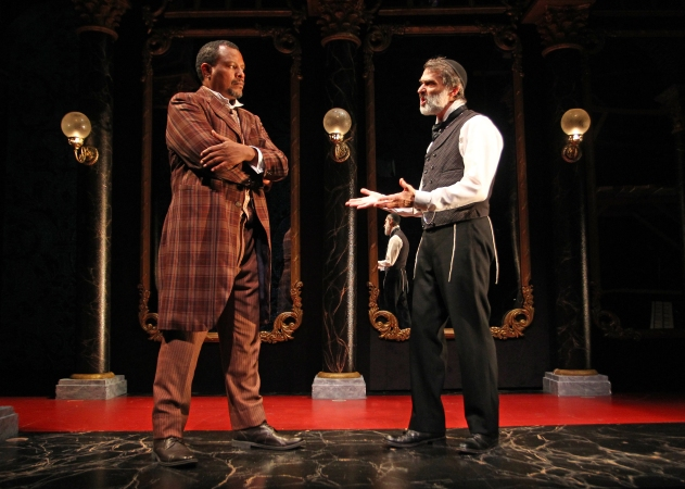 Montae Russell and Matthew Boston in SCR's 2016 production of DI