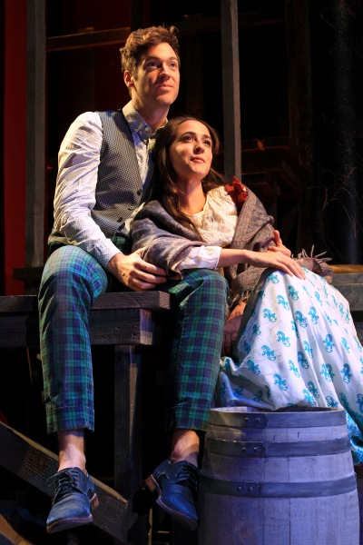 Matthew Grondin and Rachel Esther Tate in SCR's 2016 production