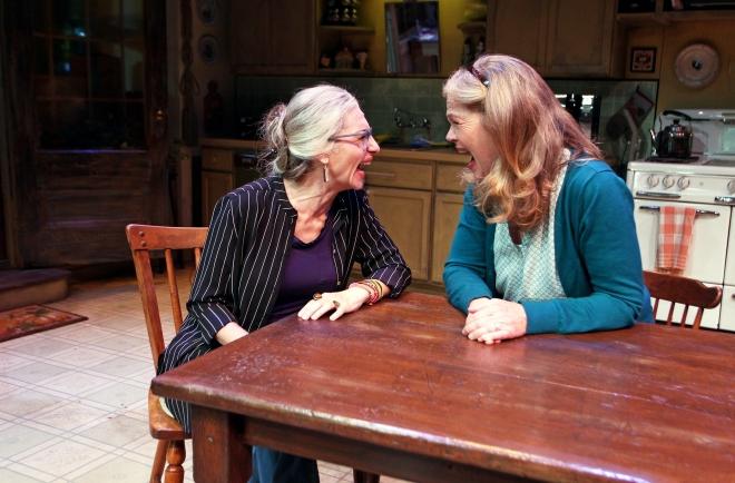 Tessa Auberjonois and Linda Gehringer in South Coast Repertory's