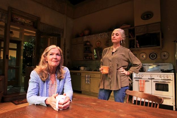 Linda Gehringer and Tessa Auberjonois in South Coast Repertory's