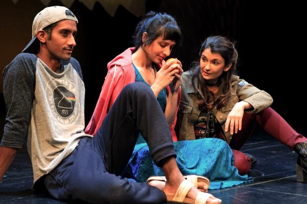 Karthik Srinivasan, Pia Shah and Anjali Bhimani in SCR's 2017 pr