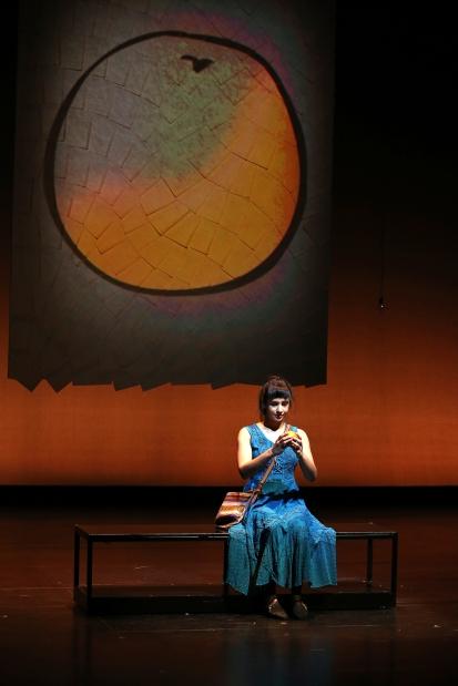 Pia Shah in SCR's 2017 production of ORANGE by Aditi Brennan Kap