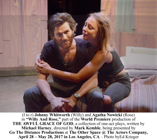Photo 3 - (l to r) Johnny Whitworth (Willy) and Agatha Nowicki (Rose AGG_B058 copy