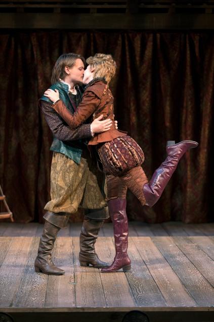 Paul David Story and Carmela Corbett in South Coast Repertory's