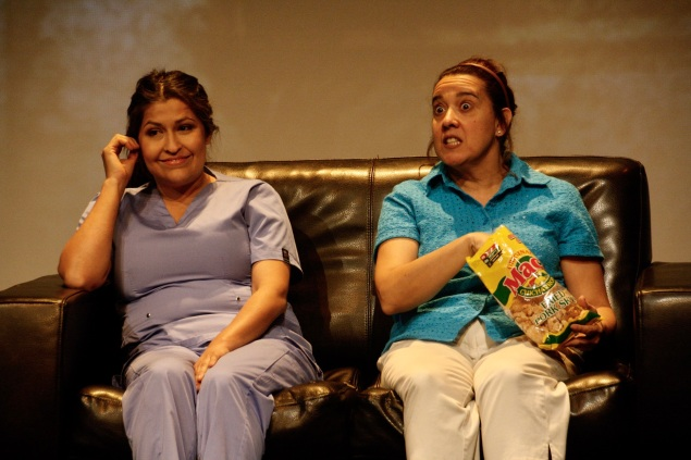 Claudia de Vasco as Vera-Doctor, Eileen Galinda as Mom