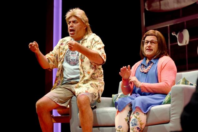 Richard Montoya and Ricardo Salinas in South Coast Repertory's 2
