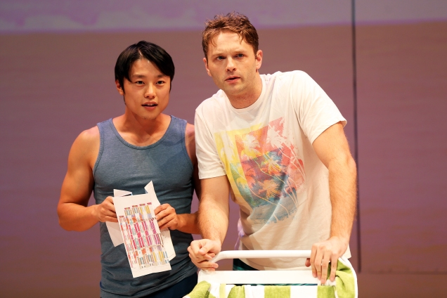 Daniel Chung and Kyle T. Hester in South Coast Repertory's 2019